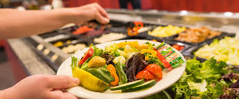 Buffet Salad Bar by Buffet Pizza Ranch