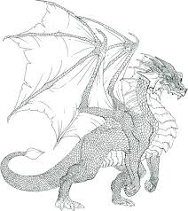 realistic dragon coloring pages coloringstar