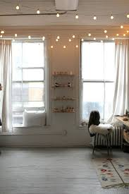 bedroom serrific how to hang string lights indoors string lights