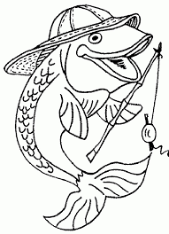 printable fish coloring pages kids coloringstar