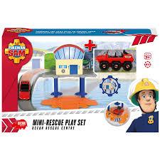 fireman sam mini rescue play ocean rescue centre toys