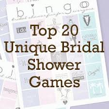 Planning Your Own Wedding Top 20 Unique Bridal Shower Games Beau Coup Blog