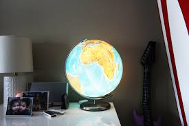World Globe Light Fixture by The Glow Lynn Ban
