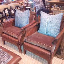 Vintage Leather Club Chair Pair Of Small French Vintage Club Chairs Mecox Gardens