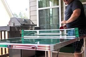 portable ping pong table the original master pong mini portable lightweight ping pong table