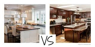 Cherry Vs Maple Kitchen Cabinets by Cabinets U0026 Drawer The Charm In Dark Kitchen Cabinets Within