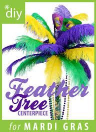 mardi gras trees party ideas by mardi gras outlet diy mardi gras feather tree