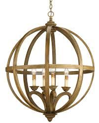 interior lantern hanging light and glass orb chandelier