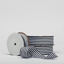 black and white striped ribbon black white striped ribbon 10 50yds packaging