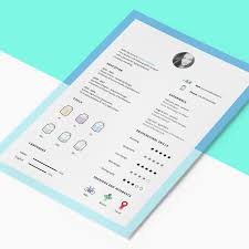 Cover Letter Resume Samples by Free Resume Template With Cv Icons Freebies Icons Cover Letter Cv
