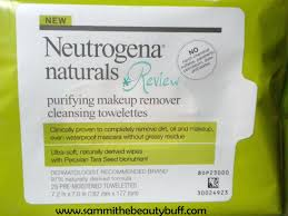 sammi the beauty buff review neutrogena naturals purifying