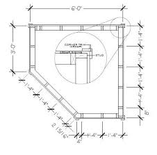 pentagon floor plan petite pentagon playhouse idea summerwood
