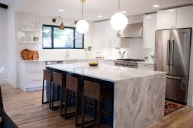 concrete countertops different types of kitchen island backsplash