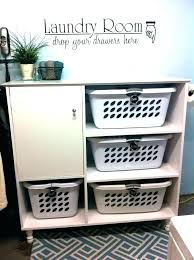 Laundry Room Basket Storage Laundry Basket Storage Cabinet Imdrewlittle Info