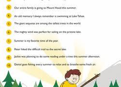 3rd grade summer worksheets u0026 free printables education com