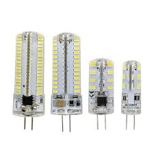 Spotlight Chandelier G4 Led Silicone Light Bulb 12v Dc Ac 110v 220v 3014 Smd