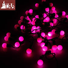 christmas lights bubble l 2015 christmas pink lights decorations 4 meters pink ball bubble