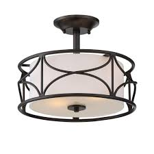 flush mount ceiling light fixtures oil rubbed bronze designers fountain avara 2 light oil rubbed bronze interior semi