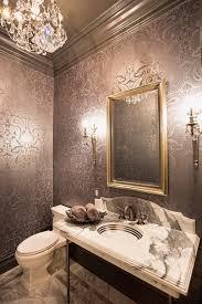 small bathroom wallpaper ideas bathrooms wallpaper choice for the powder room 20 gorgeous