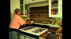 rustic kitchen backsplash youtube