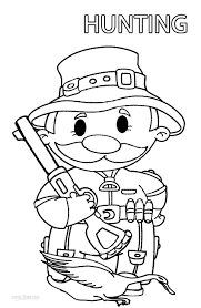 coloring turkey page free coloring page hunting pages animals to print dog for adults