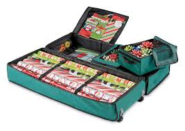 ultimate gift wrap storage bag the green