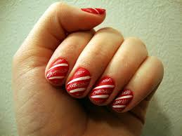 some cute holiday nail art designs spontaneous