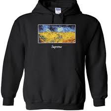 supreme hoodie on the hunt
