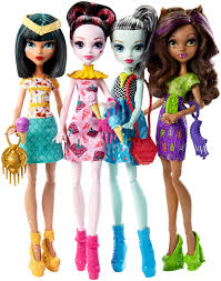 monster high ice scream ghouls doll 4 pack walmart com