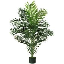 home decor trees faux tropical palm tree 5 ft silk artificial indoor home decor