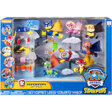 paw patrol super pups gift pack walmart exclusive walmart