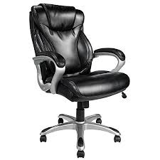 Realspace Office Furniture by Realspace Ec620 Executive High Back Chair Blacksilver By Office