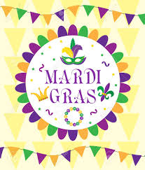 mardi gras picture frame mardi gras carnival template greeting card poster flyer frame