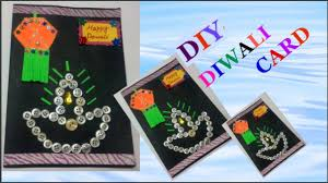 Card Making For Children - easy diwali card making idea for kids diy diwali card making how