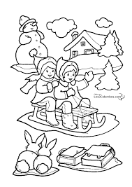 Coloriage Pour tout Petit Noel Coloriage Noel A Imprimer Maison