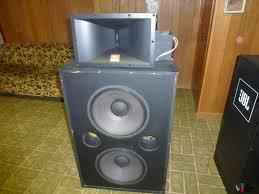 professional home theater system pair jbl professional 4508 theatre speakers jbl 2225h woofer jbl