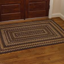 Black And White Braided Rug Rug Primitive Braided Rugs Wuqiang Co