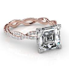 radiant cut engagement ring radiant cut engagement rings