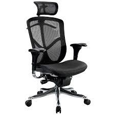 eurotech seating fuz9lx hi bkalu fuzion luxury mesh high