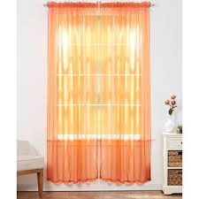 orange teens curtains u0026 drapes you u0027ll love wayfair