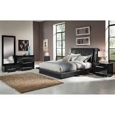 Black King Platform Bed King Bedroom Sets Black Home Design Ideas