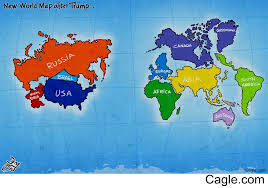 Canada World Map by New World Map After Trump
