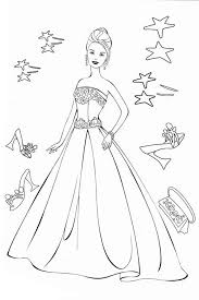 barbie wedding dress coloring pages periodic tables