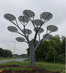 clearshield chosen to protect solar panel trees totally glass