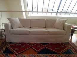 housse pour canapé sur mesure housse de canapé sur mesure en toile blanche housse de canapé sur