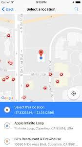Cupertino Ca Map React Native Google Place Picker