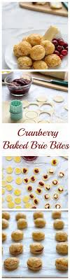 cranberry brie bites recipe baked brie brie and minis