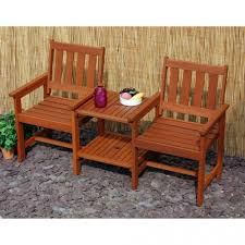 Garden Bench Hardwood Tete A Tete 2 Seater Hardwood Garden Bench With A Twist On U2026 Flickr