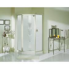 Sterling Shower Doors By Kohler Sterling Intrigue 27 9 16 In X 72 In Neo Angle Shower Door In