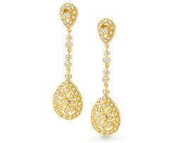 Chandelier Gold Earrings Rose Gold Chandelier Earrings The Wonderful Chandelier Earrings